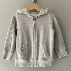 Zara Boys Collection Full Zip Hoodie Size 5 Grey